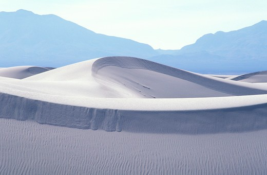 Stock Photo: 4286-23462 USA New Mexico White Sands National Monument