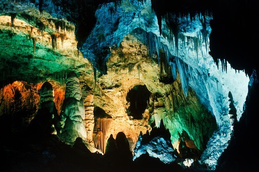Carlsbad Caverns National Park in New Mexico USA : Stock Photo