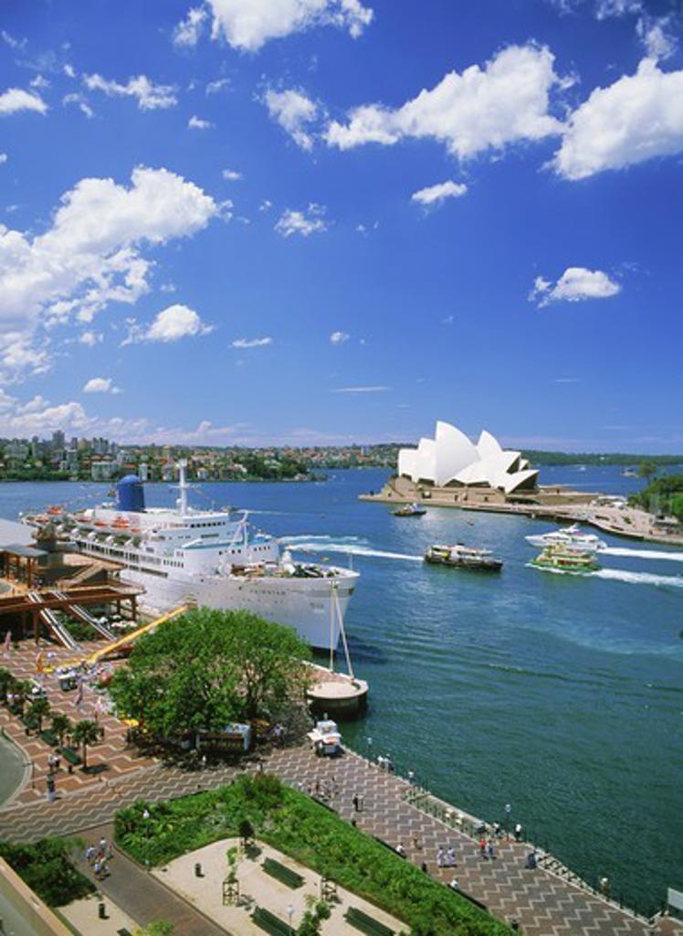 Sydney Harbor and Opera House : Stock Photo