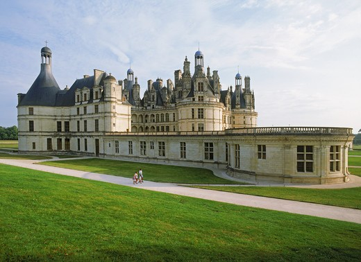 Stock Photo: 4286-29024 Chƒteau du Chambord in Loir et Cher France