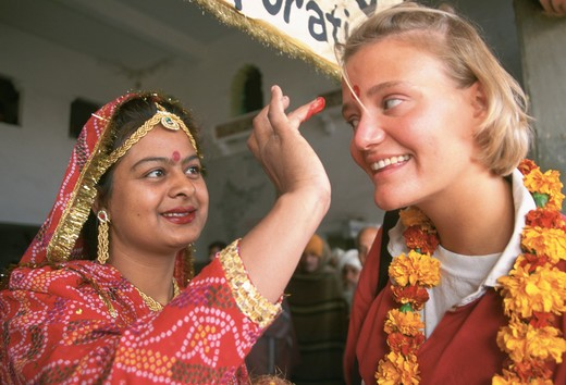 Stock Photo: 4286-29438 Tourist welcome, Jaipur, India
