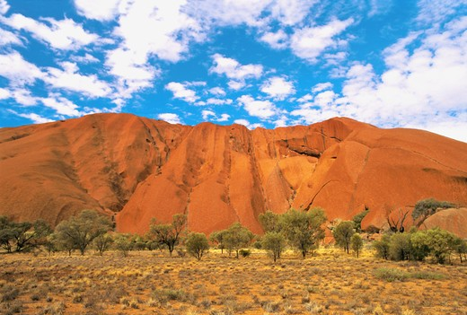 AUSTRALIA NORTHERN TERRITORY. ULURU NATIONAL PARK. ULURU AYERS ROCK. : Stock Photo