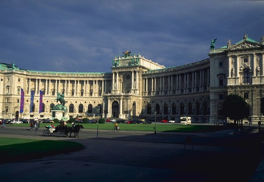 Stock Photo: 4286-32289 Imperial Palace in Vienna, Austria.
