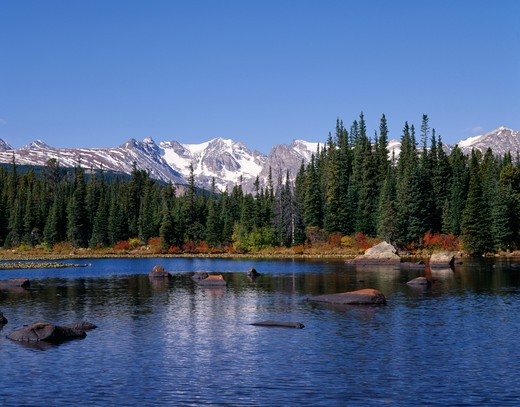 Stock Photo: 4286-32709 Red Rock Lake, Rocky Mtns.