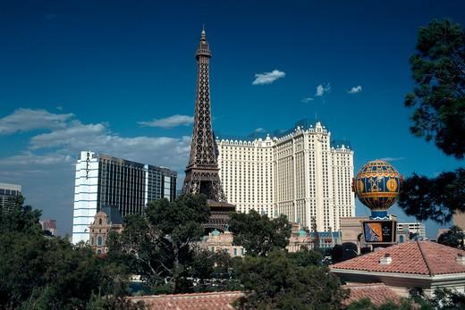 Paris Hotel and Casino in Las Vegas, Nevada : Stock Photo