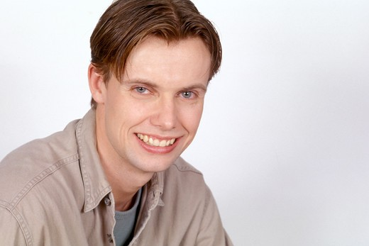Stock Photo: 4286-36453 Portrait of a young man.
