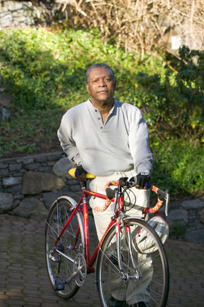Senior, African American.  MR-0509 PR-0505 : Stock Photo