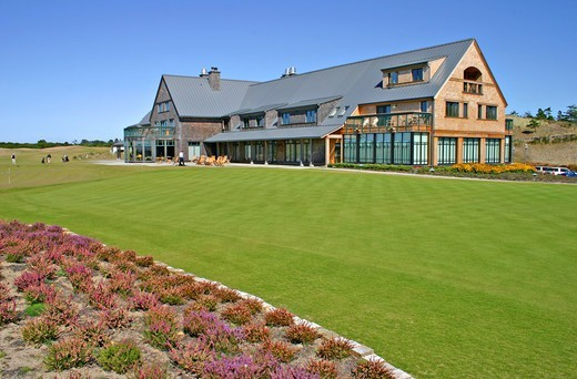 Stock Photo: 4286-42452 Lodge at Bandon Dunes Golf Resort Bandon Oregon