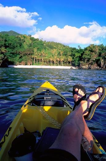 Stock Photo: 4286-44944 Kayak, Kadavu, Fuji