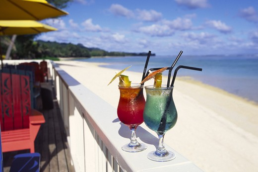 Stock Photo: 4286-45273 Rarotongan Beach Hotel and Spa, Rarotonga, Cook Islands