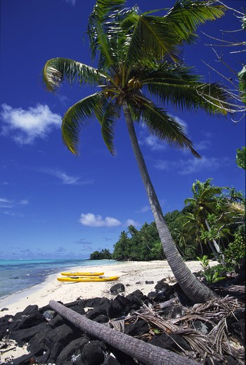 Stock Photo: 4286-45327 Rapota Island, Aitutaki, Cook Islands