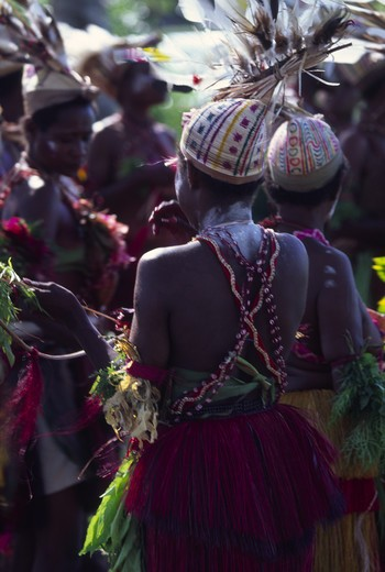Dancers, Papua New Guinea : Stock Photo