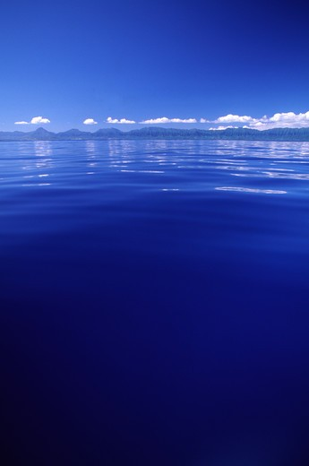 Stock Photo: 4286-46421 Calm water off Oahu, Hawaii