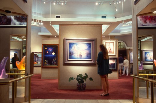 Stock Photo: 4286-49052 Art Gallery, Lahaina, Maui