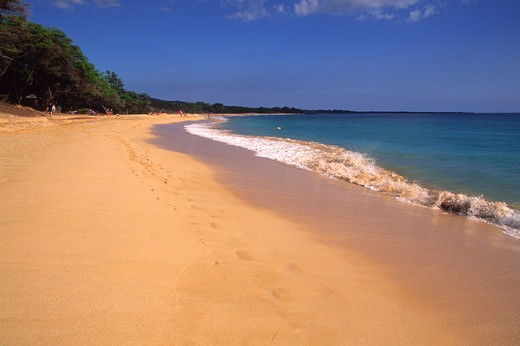 Makena Beach, Maui, Hawaii, USA : Stock Photo