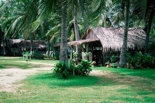 Gef Pa'go, Chamorro Village, Guam, Micronesia : Stock Photo