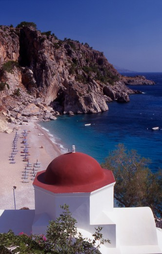 Stock Photo: 4286-56766 Greece. Dodecanese Islands. Kyra Panagia. Karpathos
