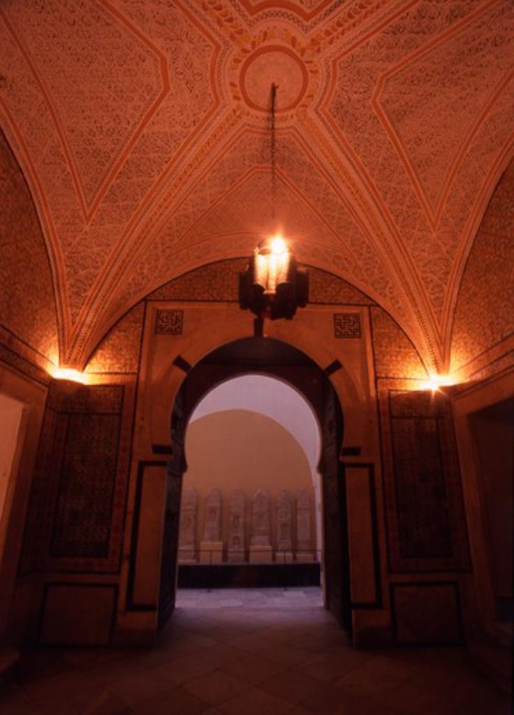 Stock Photo: 4286-56847 Tunisia. Inside The Bardo Museum, Tunis
