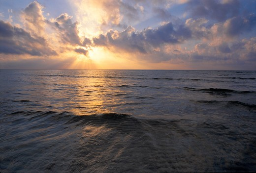 Stock Photo: 4286-58013 Sunrise at Sand Spur Beach, Bahia Honda State Park, Bahia Honda Key, Florida