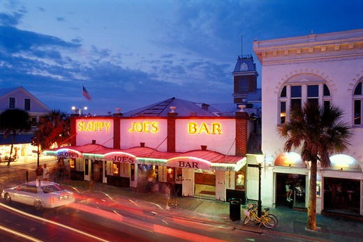 Historic Sloppy Joe's Bar on Duval Street, Key West, F;proda : Stock Photo