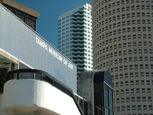 Stock Photo: 4286-60661 Tampa, FL, Florida, Tampa Bay, Tampa Museum of Art, downtown