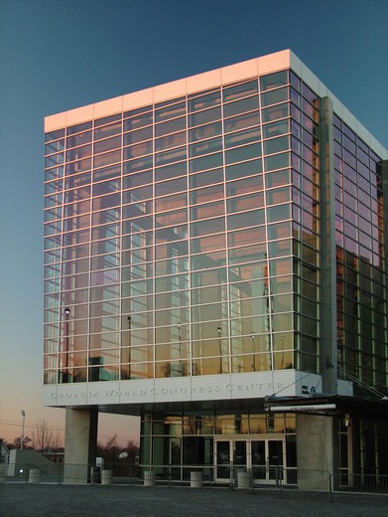Stock Photo: 4286-60664 Atlanta, GA, Georgia, Georgia World Congress Center