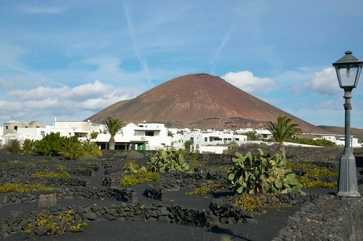 Stock Photo: 4286-61708 Foundation Cesar Manrique in Tahiche Lanzarote