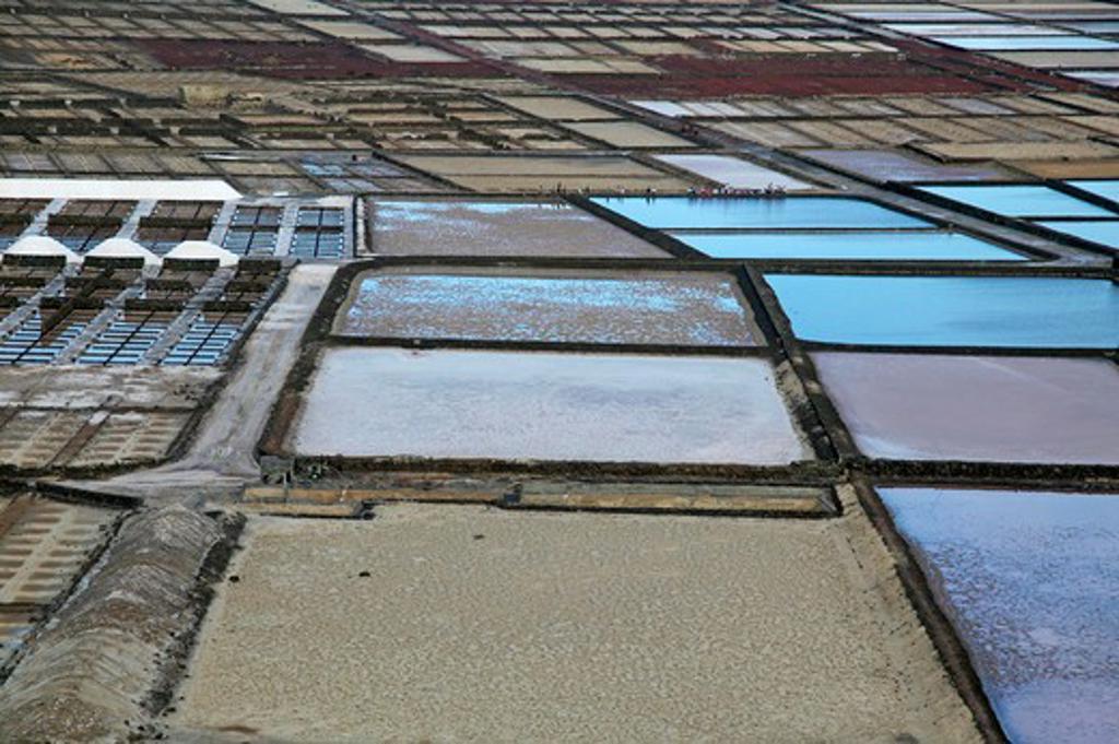 Salinas de Janubio Lanzarote : Stock Photo