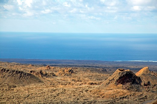 Stock Photo: 4286-61757 Timanfaya Nationalpark national park  Lanzarote