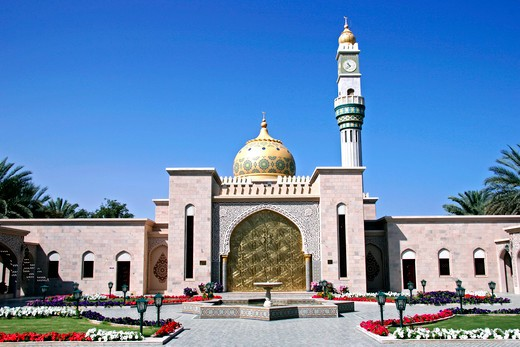 Stock Photo: 4286-62301 Oman, Zawawi mosque in Muscat, Zawawi Mosque in Muscat