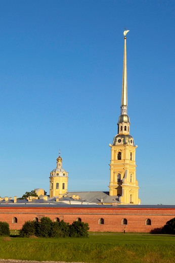 Stock Photo: 4286-63224 Sankt Petersburg, Russia Saint Petersburg Peter and Paul Fortress