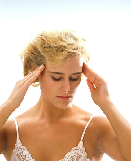 Stock Photo: 4286-63691 Headaches