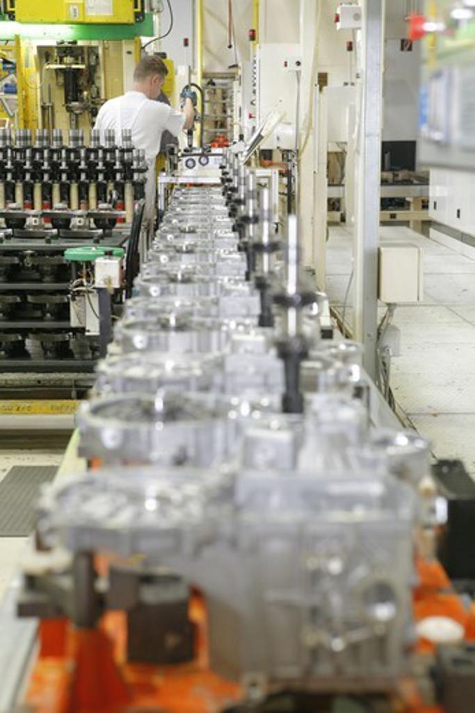 car production in Slovakia : Stock Photo