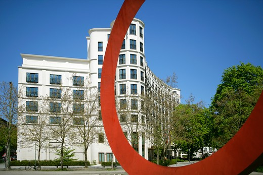 Stock Photo: 4286-64854 The Charles Hotel 5 Star Hotel in Munich, Bavaria, germany