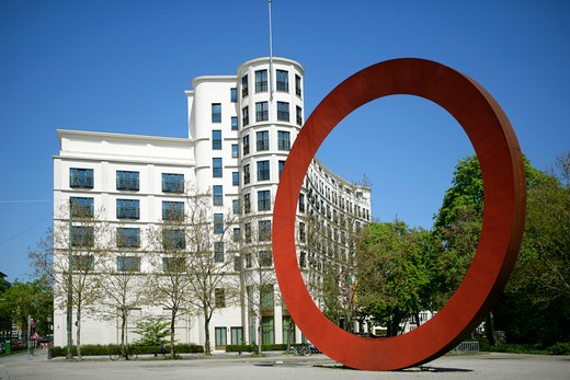The Charles Hotel 5 Star Hotel in Munich, Bavaria, germany : Stock Photo