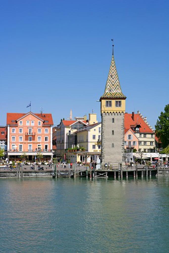 Germany, Bavaria, Lindau at Lake Constance Germany : Stock Photo