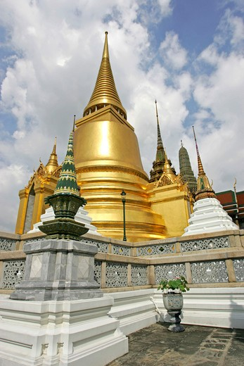 Bangkok Phra Siratana Chedi in Grand Palace : Stock Photo