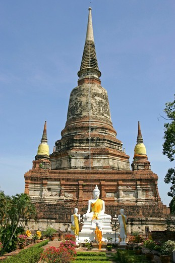 Stock Photo: 4286-66428 Ayutthaya Wat Yai Chai-mongkol