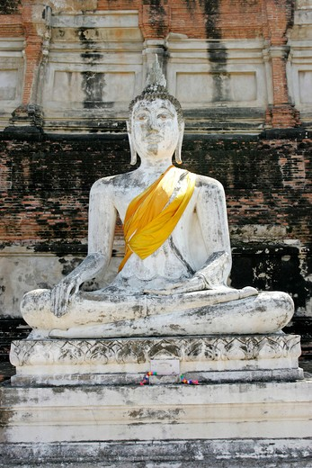 Stock Photo: 4286-66433 Ayutthaya Wat Yai Chai-mongkol