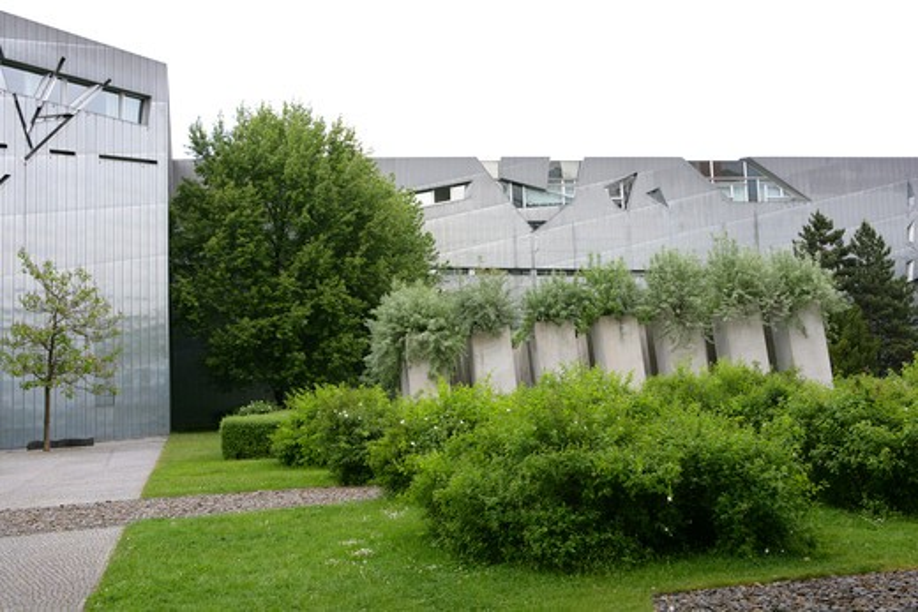Stock Photo: 4286-67174 Germany, Berlin, Jewish museum