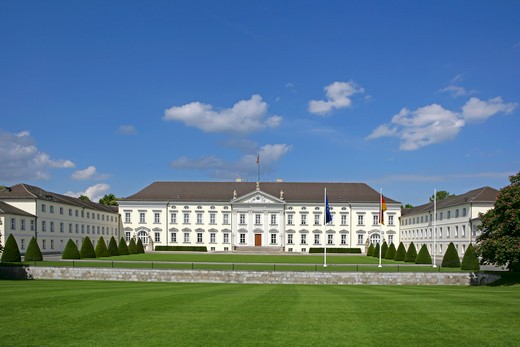 Stock Photo: 4286-67203 Germany, Berlin, castle Bellevue