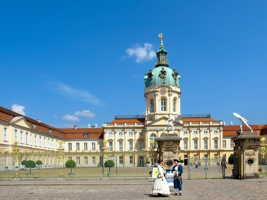 Stock Photo: 4286-67410 Germany, Berlin, castle Charlottenburg