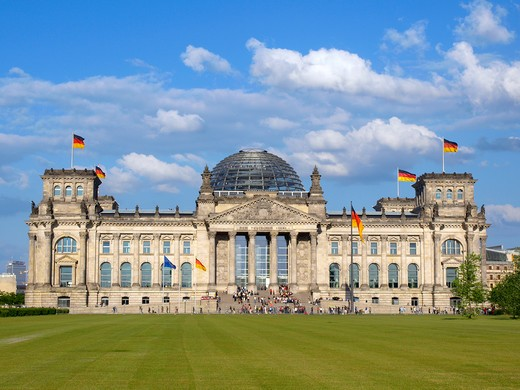 Stock Photo: 4286-67427 Germany, Berlin, Europa, Reichstag