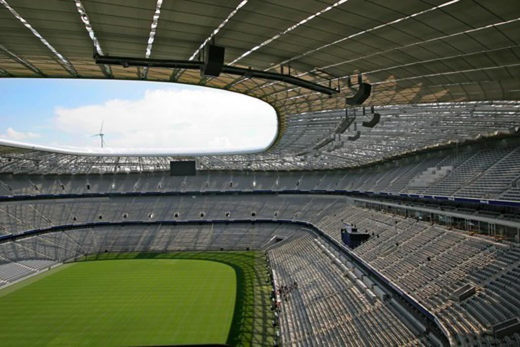 Stock Photo: 4286-68201 Allianz Arena stadium munich germany