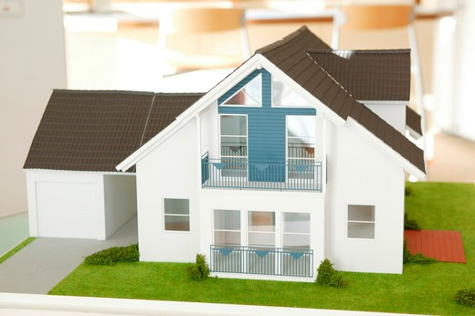 Stock Photo: 4286-68715 Architecture, Model House