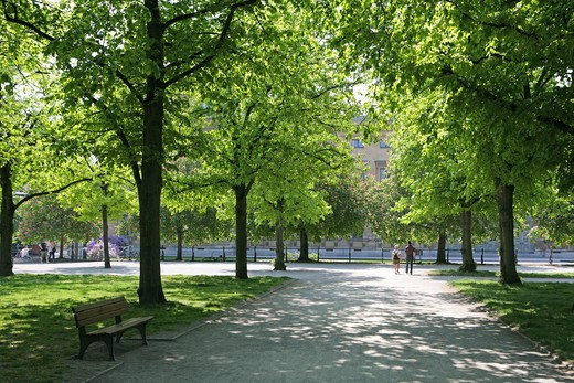 Stock Photo: 4286-69087 Hofgarten Munich, Bavaria, Germany