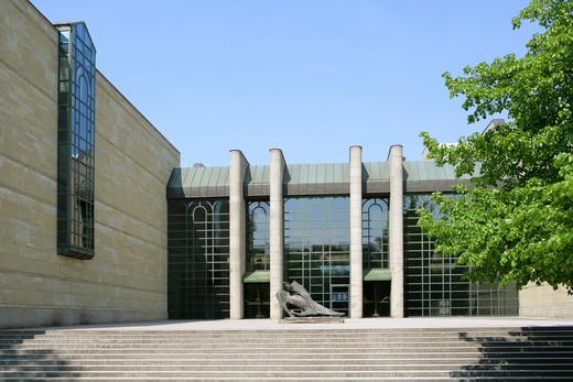 Stock Photo: 4286-69110 Germany, Bavaria, Munich, Museum Neue Pinakothek