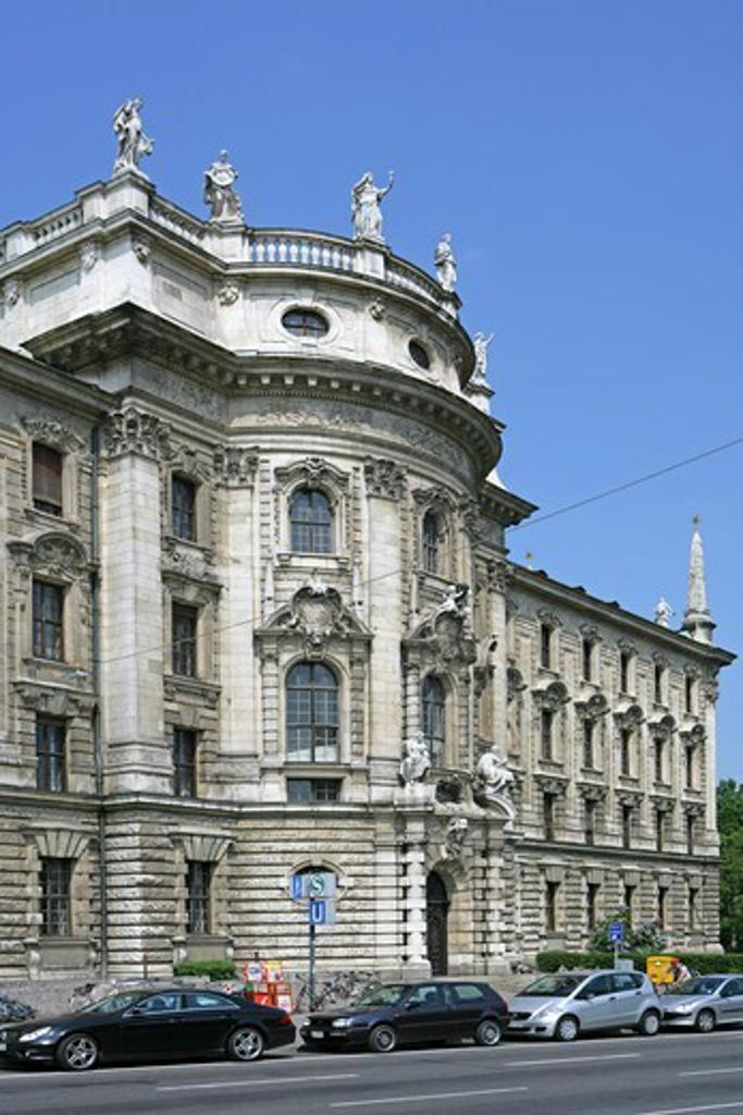 Stock Photo: 4286-69155 Palace of Justice Munich Bavaria Germany