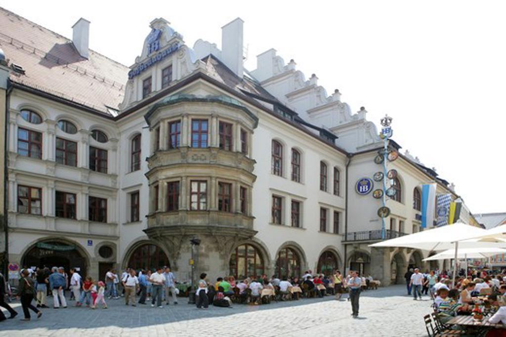 Stock Photo: 4286-69174 Germany Bavaria Munich the world famous Hofbrauhaus