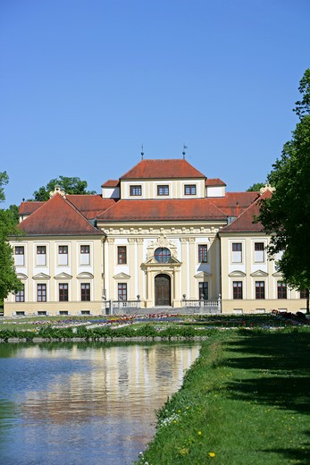 Stock Photo: 4286-69228 Castle Lustheim at Schleissheim park and palace grounds Munich Bavaria Germany